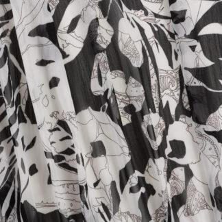 Chiffon Black & white