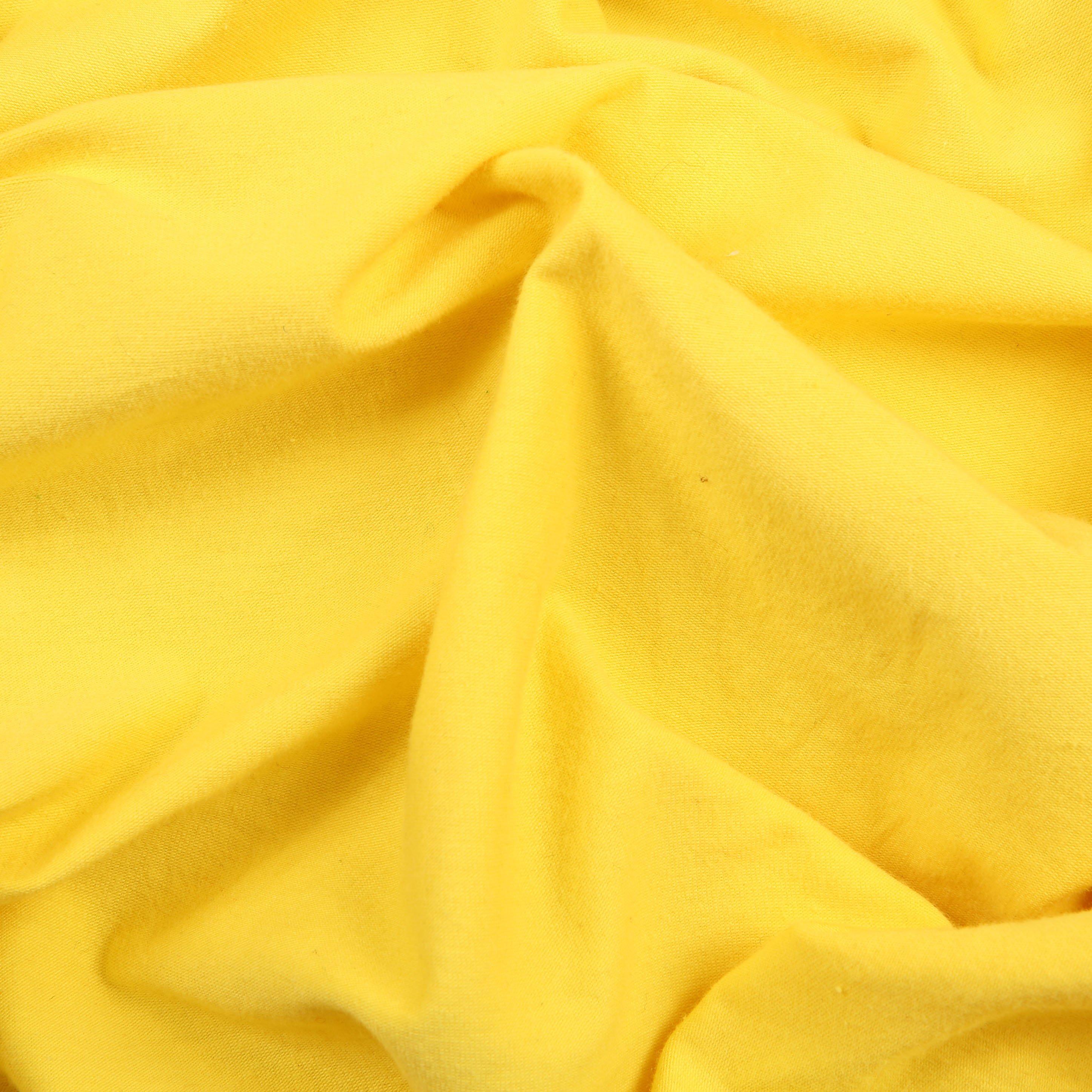 2384c9ac8f7 Laguna Cotton Jersey Robert Kaufman Citrus Yellow - Bloomsbury ...