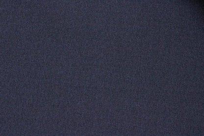 Wool Dress Crepe Navy Blue