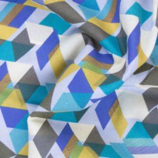 Cotton Geometric Print 2374 2