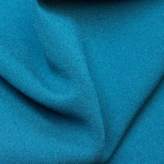 Petrol blue Gabardine