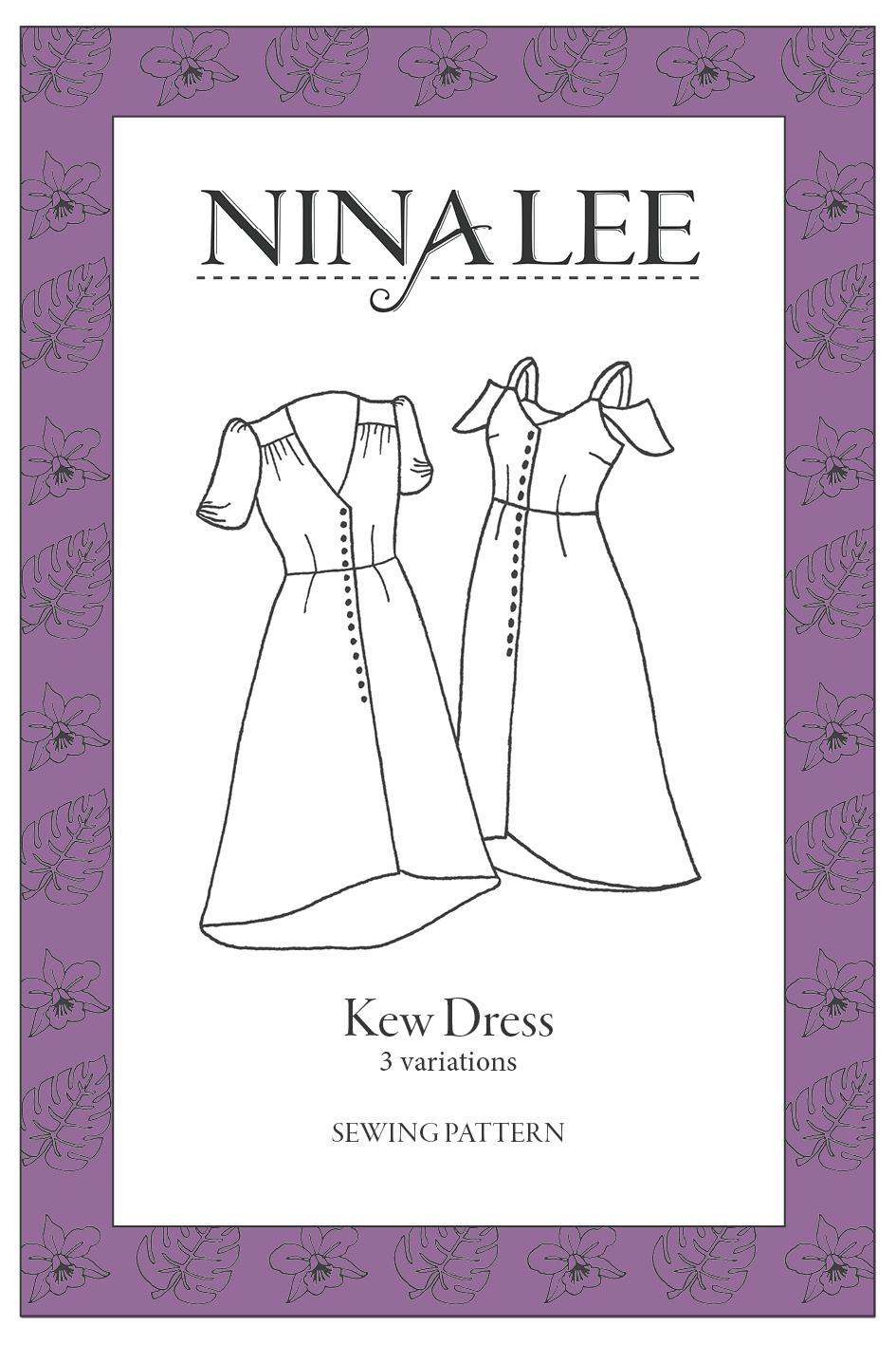 Kew Dress pattern 3101