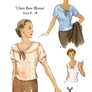 Clara Bow Blouse Now And Then 90012
