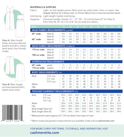 Cashmerette Holyoke Dress-90026