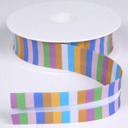 Stripes Bias Tape Spain 25mm
