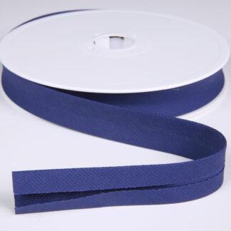Royal Blue Pique Bias Binding 20mm