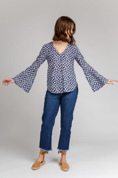 Megan Nielsen Dove Blouse Pattern 90025