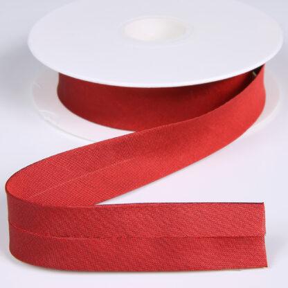 Bias Binding 20mm Silk Red