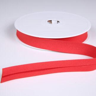Red Pique Bias Binding 20mm