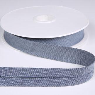 Denim Bias Binding Light Blue 20mm