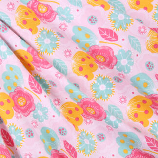 candy-pink-buttercup-cotton-print-bloomsbury-square-fabrics-2327