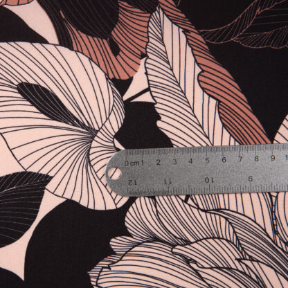 polyester-crepe-caramel-peach-flowers-bloomsbury-square-fabrics-3899