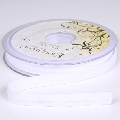 White Bias Binding 12mm