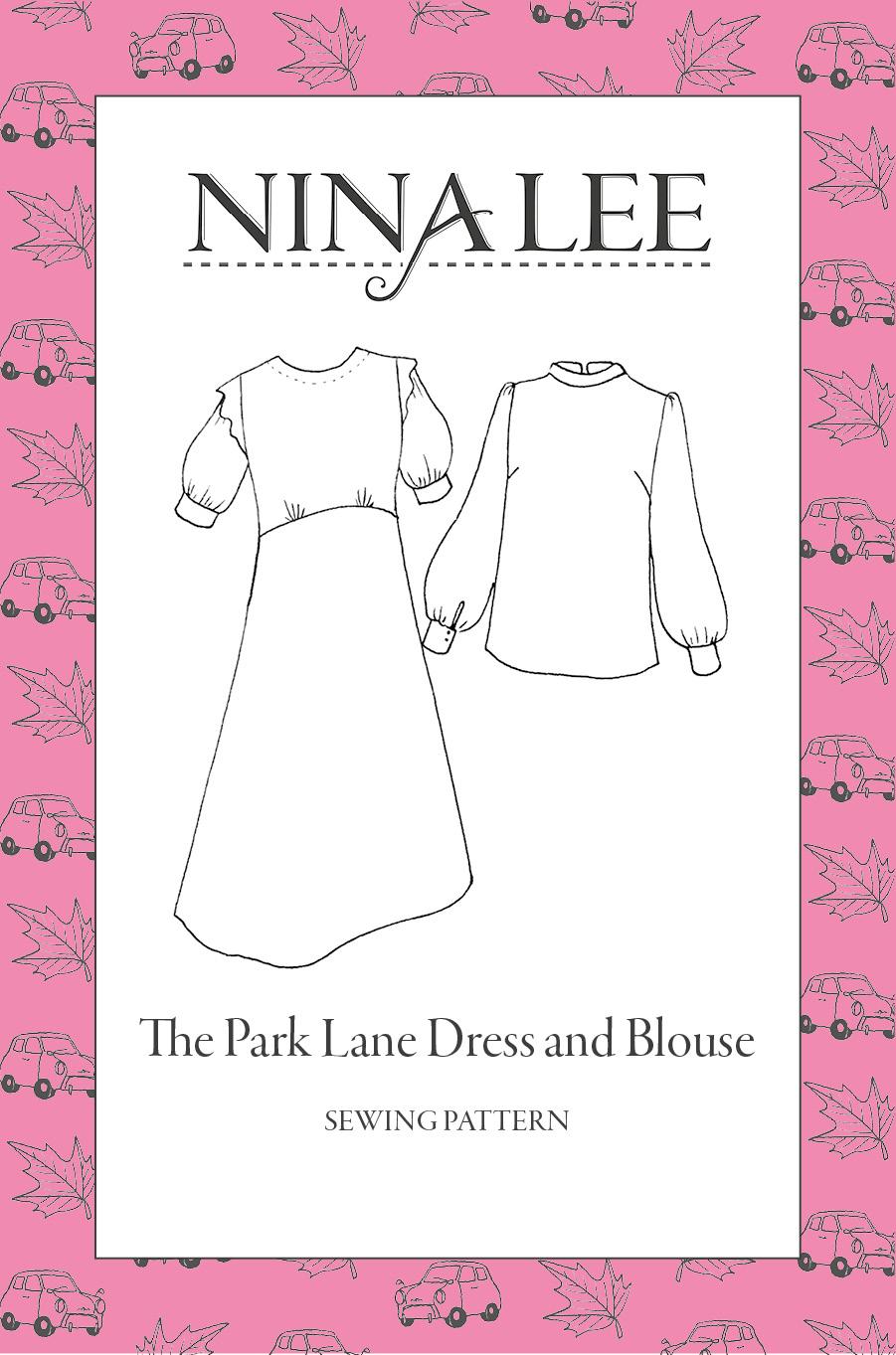 Nina Lee Park Lane Blouse 90030