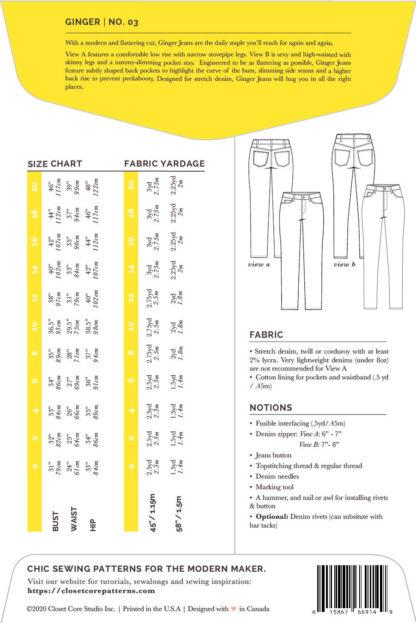 Ginger Jeans Closet Core 90017