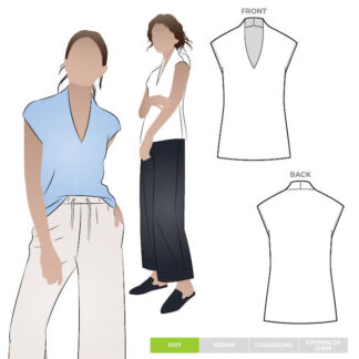 Como Knit Top Style Arc 90033