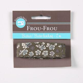 Frou Frou Bias Binding Olive