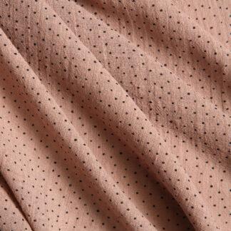 black-dot-cotton-slub-gauze-taupe-bloomsbury-square-fabrics-4020
