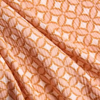 cotton-double-gauze-peach-pattern-GOTS-bloomsbury-square-fabrics-4008
