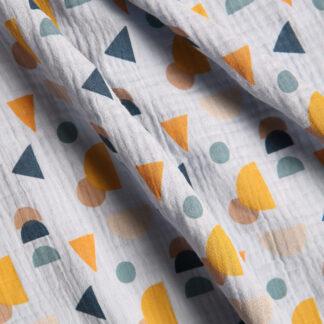 geometric-patterned-cotton-double-gauze-light-blue-GOTS-bloomsbury-square-fabrics-4024