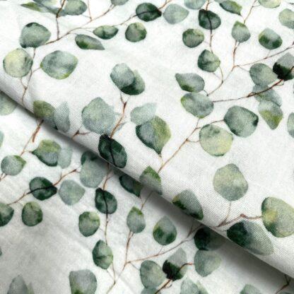 cotton-double-gauze-green-leaf-4112a